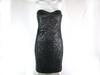 Robe noir bi matière JENNYFER taille M