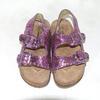 Sandales paillettes  multicolore H&M  taille 30-31