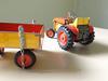 Tracteur ZETOR remorque
