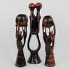 Lot de statuette africaine en bois.