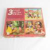 3 Puzzles Walt Disney Blanche neige, Mickey et les 3 petits cochons Nathan