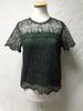 T-shirt en dentelle verte - Kookaï - taille M