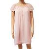 Nuisette vintage Lingerie Contis Chemise de nuit rose baby doll années 60