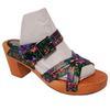 Chaussure sabot sandale mule Manoush & Monoprix P 36 cuir Talon bois