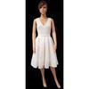 Neuf & étiquette Robe de mariée courte Alexis Mabille pour Monoprix T 38