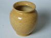 Petit Vase en Grès avec Décor de Couleur Piqueté