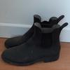 Boots d'équitation Schooling noir - Pointure 34 - Fouganza