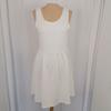 Robe blanche patineuse