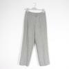 Pantalon gris en laine courrèges M