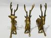 Décor de chemine 3 Cerfs couchés en Bronze dépoli Intemporel