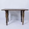 Table en bois Pieds sculptés