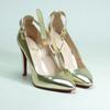 Chaussures Escarpins EUPHORIA Or MINELLI  à Sangles TAILLE 40