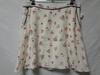 Jupe blanche à fleurs - Naf Naf - taille 40