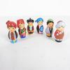 Lot de 6 petits personnages originaire de la Mongolie