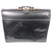 Sacoche/malette pour médecin cuir noir