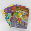 Lot de 5 BD Les Simpson édition Jungle