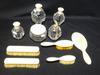 Nécessaire de toilette en Cristal et ivoirine 1910