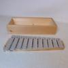 Xylophone 35 cm X 3.5 de Hauteur 11  Lamelles dans sa boite en bois