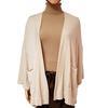 Neuf & étiquette veste gilet cardigan Zara Knit en maille écrue T S
