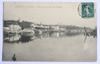 Carte postale Chalon sur Saône, vue prise du Pont des Dombes - 1908