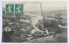 Carte postale Mirmande, quartier de Sainte-Lucie – 20 juillet 1914