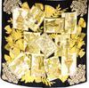 Carré Lanvin en soie motifs Egyptiens
