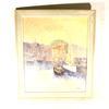 Peinture de Luc Cossier dit Walles sur Honfleur