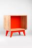 Meuble Henri // Orange Maloya - Atelier Emmaüs