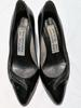 Escarpin cuir noir Balenciaga pointure 40