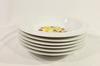 Lot de 6 assiettes creuses en porcelaine Scherzer