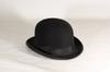 Chapeau melon Moores et sons London en feutre noir