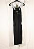 Robe mi-longue noire Armani exchange taille 8