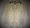 Gilet blanc style dentelle The kooples taille XS