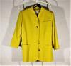 Veste femme jaune Yves saint Laurent en coton taille M