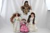 Lot de 4 poupées Cathay