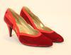 Escarpins rouge Gianni Versace taille 37,5