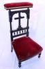 Ancienne chaise de priere en bois