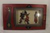 Cadre en bois pour Figurines Africaines en volume