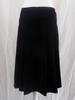 Jupe noire plissée - 40 - CAROLL