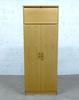 Armoire haute porte battante  en bois  80x43x213cm - Marron