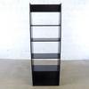 Bibliotheque  en bois  63x32x185cm - Noir