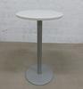 Mange debout  Steelcase en mélamine - métallique  60x60x105cm - Gris et Blanc