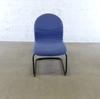 Siège réunion Strafor en métal  53x50x90cm - Bleu et Noir