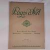 Livre-revue : PAGES D'ARTS de 1917