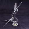 Couple d'oiseaux en cristal