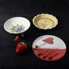 Coupe, plat, piques fruits