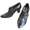Chaussures en cuir noir - Pomares Varquez - Taille 37