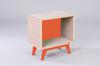 Meuble Henri Gravé // Orange Maloya // Motif Oblique