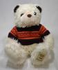 Peluche Ours Blanc avec Pull Marron – Giorgio Beverly Hills Collectors Bear