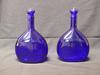 bouteilles bleus